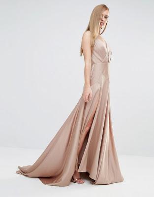 vestidos largos con abertura