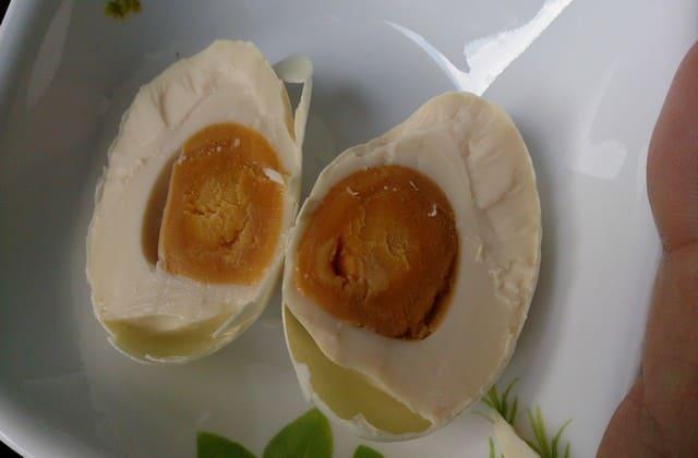 Telur asin brebes ternyata asli dari Cina