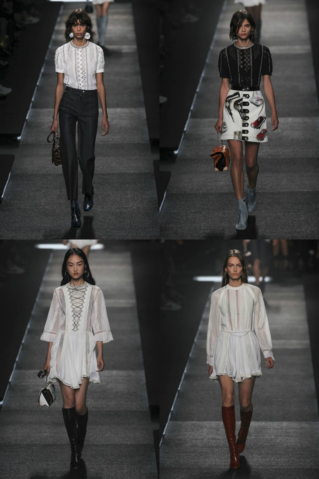 Eniwhere Fashion - B&W - Louis Vuitton SS2016