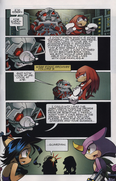 Read online Sonic The Hedgehog comic -  Issue #222 - 22