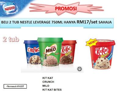 Kit Kat Bites Milo Crunch