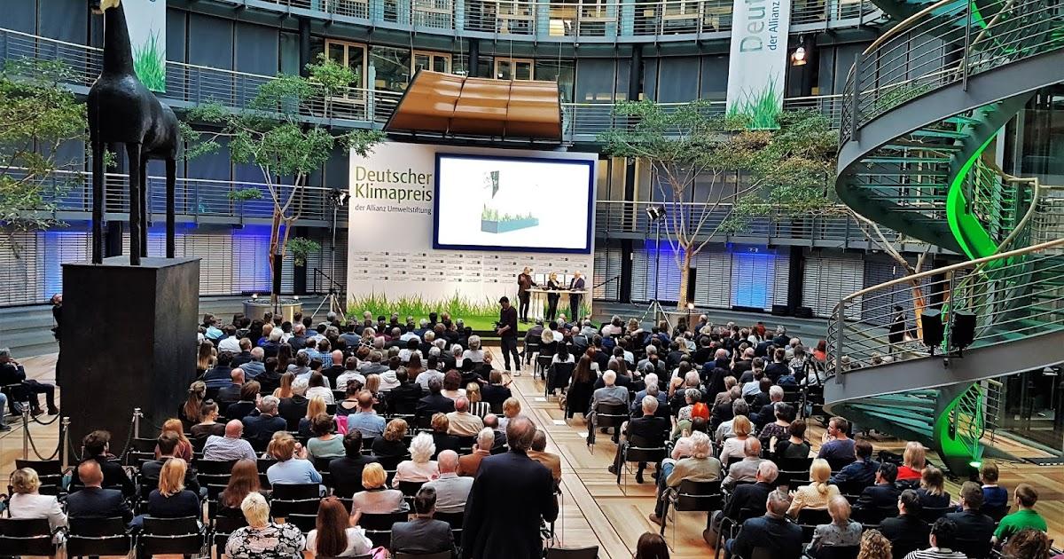 Die Medienreporter Deutscher Klimapreis Der Allianz