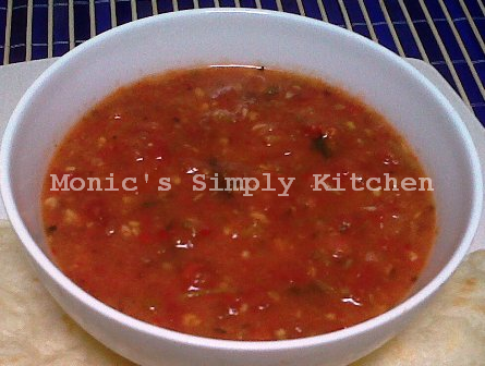 resep homemade saus salsa hot