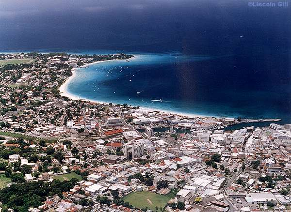 Bridgetown, Capital de Barbados