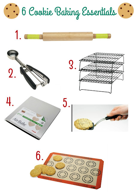 Do not start that holiday cookie baking without these 6 Cookie Baking Essentials!