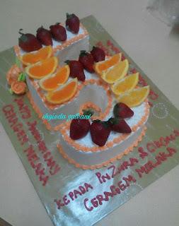 Shyieda Gateaux Homemade Melaka Number 5 Cake
