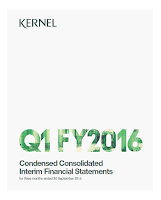 Kernel, Q1, 2016, front page