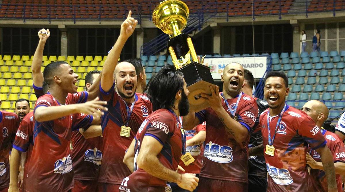 Ômega Futsal de Santo André é campeão da UNILIGAS Principal 2019