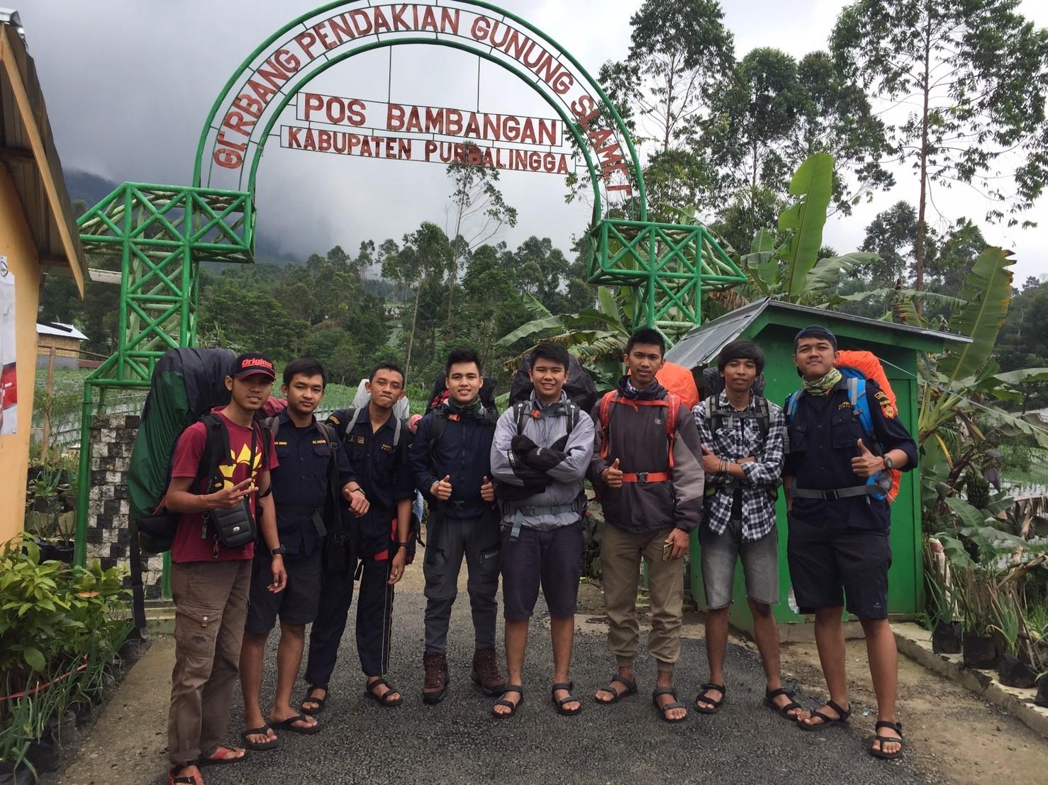 gerbang pendakian slamet