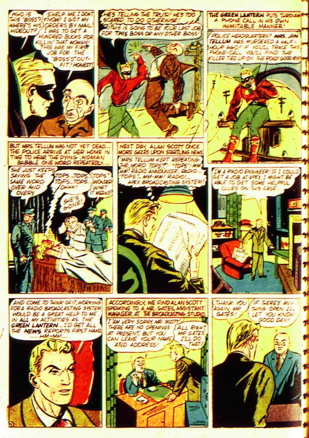 Read online All-American Comics (1939) comic -  Issue #20 - 7