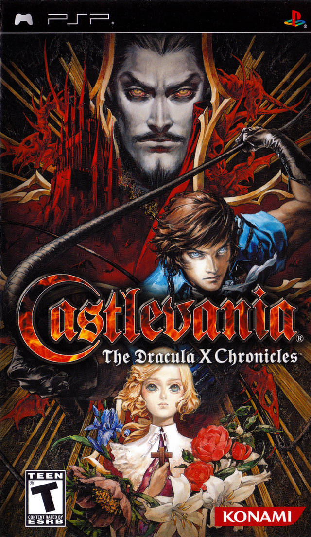 ROMs - Castlevania - The Dracula X Chronicles - PSP Download