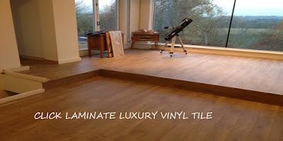 contoh lantai vinyl dengan sistim klik