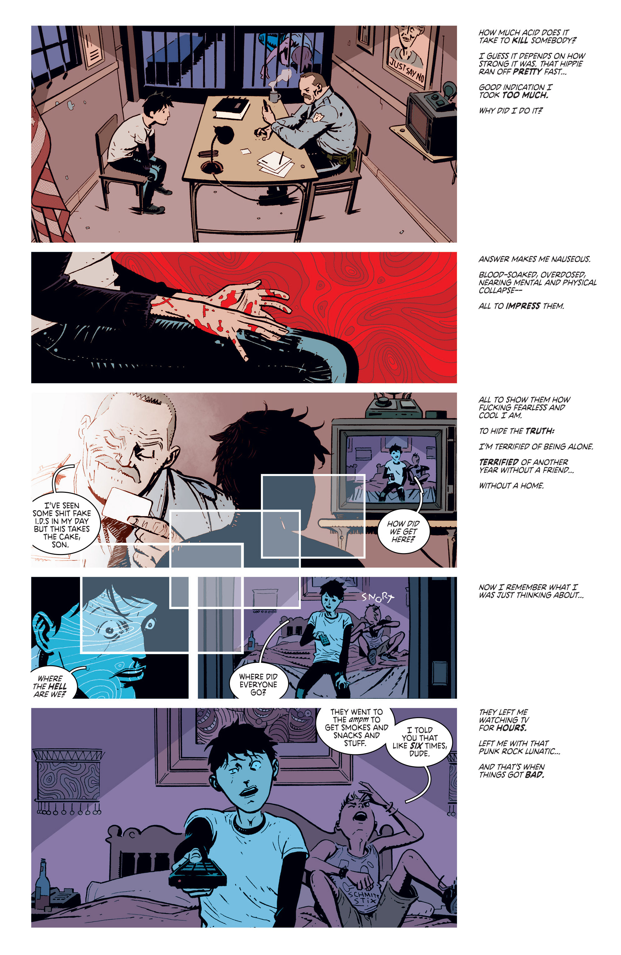 Read online Deadly Class comic -  Issue #5 - 3