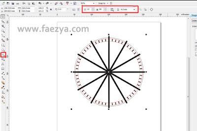 Cara membuat detik Jam dengan simple dan mudah menggunakan coreldraw.