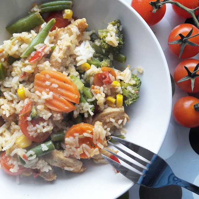 warzywa na patelnię z przyprawami włoskimi