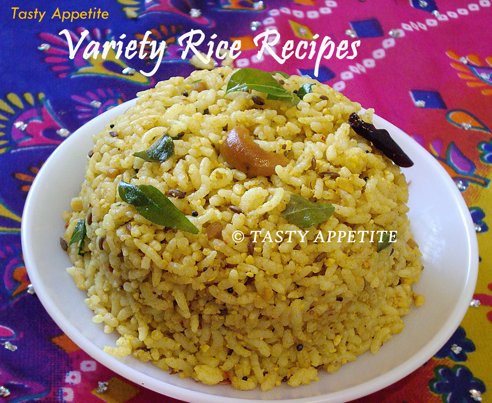 South Indian Variety Rice Recipes Healthy Lunch Box Kids