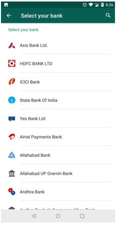 List of all banks available in payments on WhatsApp