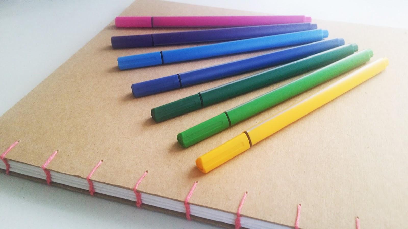 Madeheart Cuaderno De Dibujo Libreta Para Dibujar Hecho: Dibujando Con Delein: Como Hacer Una Libreta De Dibujo