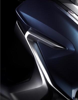 Honda Forza 300 2018 atau Forza 250 desain sirip sayap