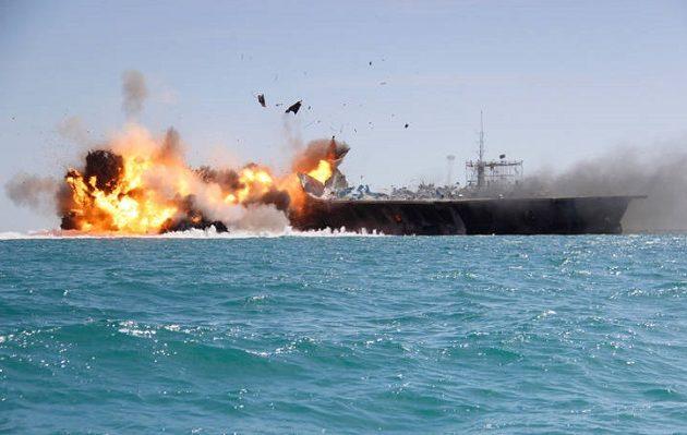 Ιπτάμενο αντικείμενο πριν την έκρηξη είδε το πλήρωμα του Kokuka Courageous