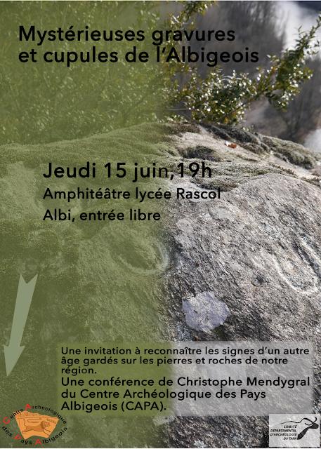 Conférence sur les gravures du jeudi 15 juin