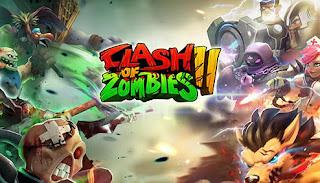 Kali ini admin akan memberikan game android terbaru yang terdapat permainan yang mengadops Clash of Zombies 2:Heroes Game Apk v2.4.5+ No Mod
