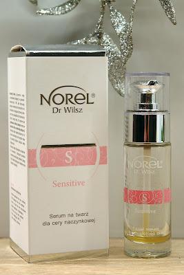 Norel Sensitive - Serum na twarz dla cery naczynkowej