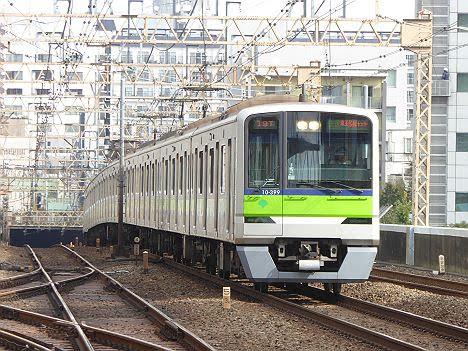 京王電鉄 快速 京王多摩センター行き18 都営10-300形370F・380F・390F・400F・410F・420F・430F・440F