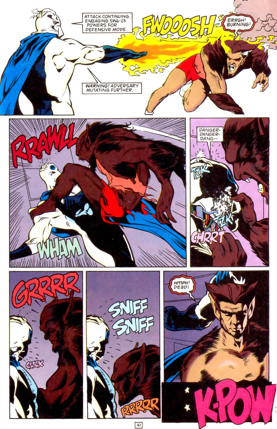 Legion of Super-Heroes (1989) 50 Page 41