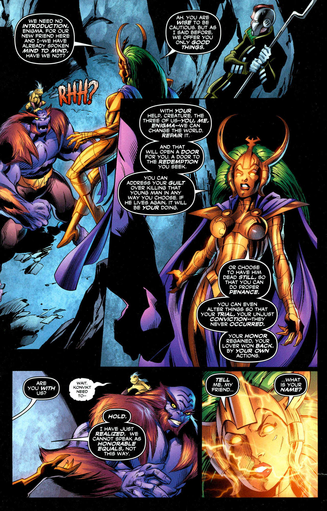 Read online Trinity (2008) comic -  Issue #27 - 11