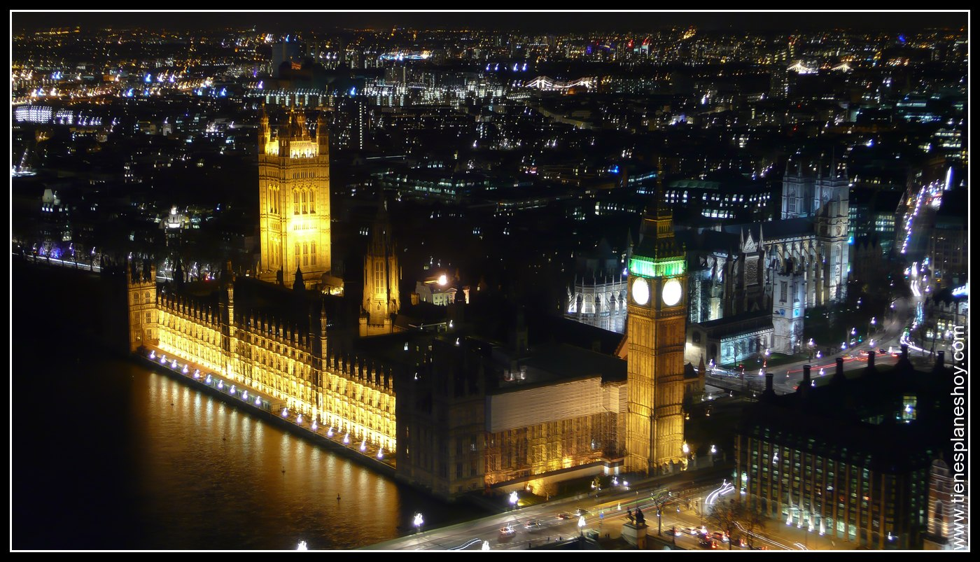 Vistas desde el London Eye Londres (London) Inglaterra