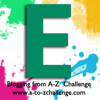 E is for Emerald Green #AtoZChallenge