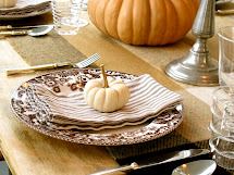 Jenny Steffens Hobick Fall Table Setting