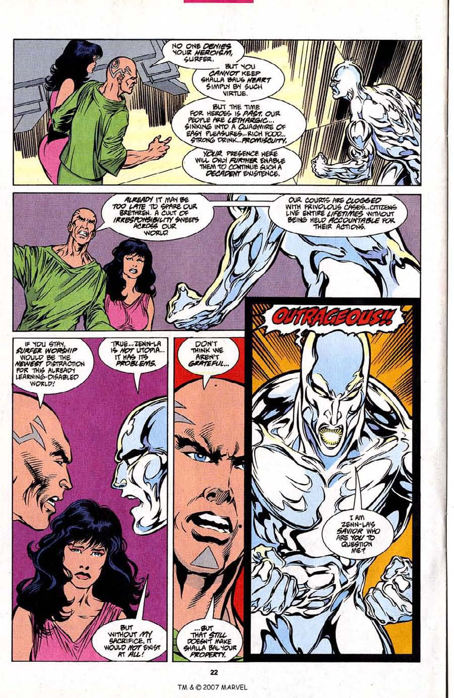 Silver Surfer (1987) Issue #101 #109 - English 24