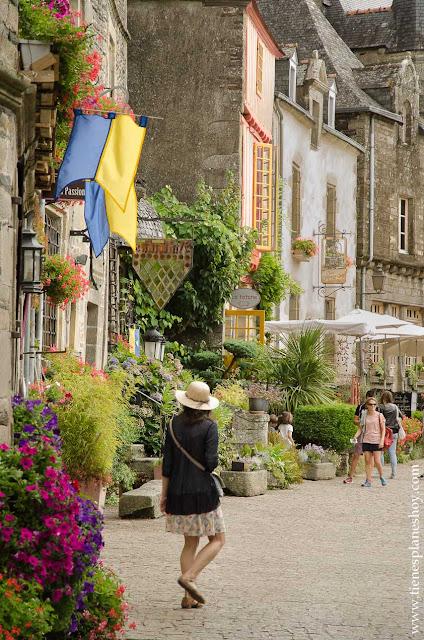 Rochefort-en-Terre Bretaña turismo viaje imprescindibles pueblos bonitos