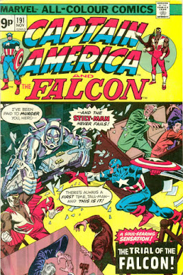 Captain America and the Falcon #191, the Stilt-Man