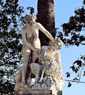 La mujer, el diablo y la cabra