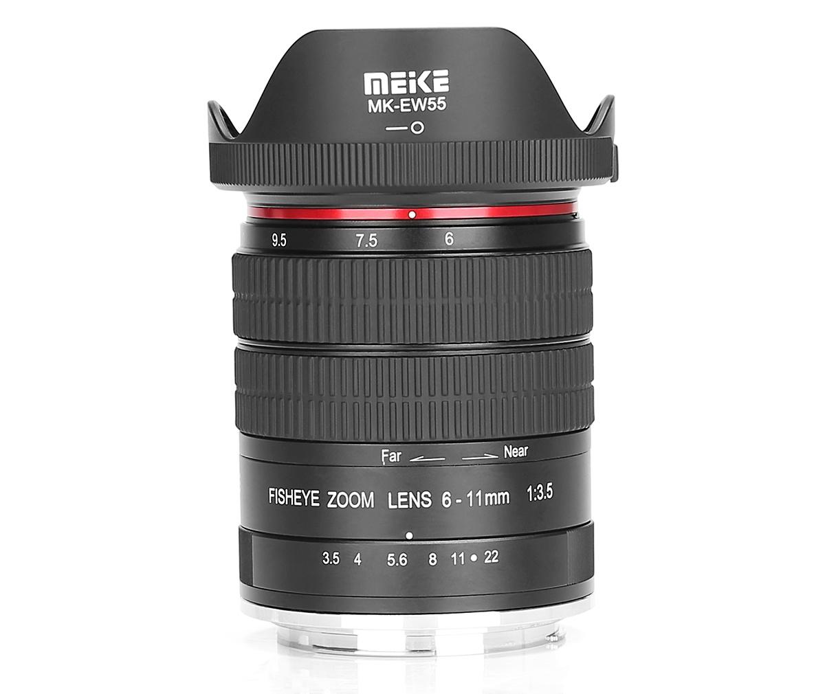 Объектив Meike 6-11mm f/3.5 Fisheye