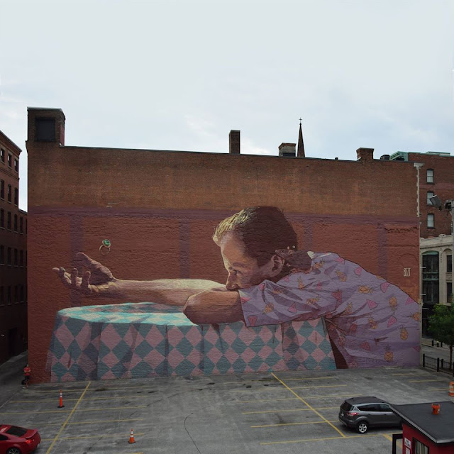 Along with Natalia Rak, BEZT from Etam Cru is also in Providence where he was invited by Inoperable and The Avenue Concept.