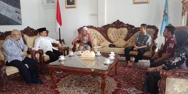 Bupati Kerinci Adirozal Sambut  Kunjungan Kepala Kantor Pelayanan Pajak Bangko