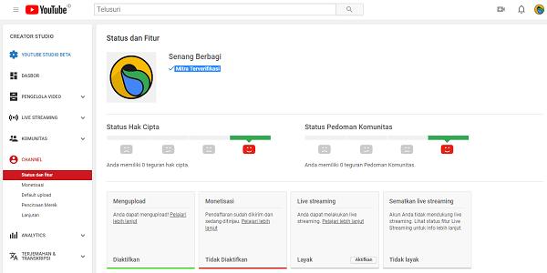Cara Mengatasi Tidak dapat Membuat thumbnail video kustom di Youtube