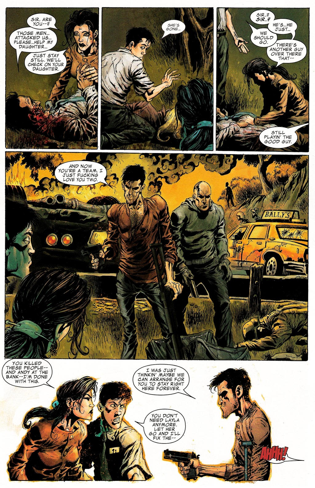 Read online Zombie (2006) comic -  Issue #1 - 12