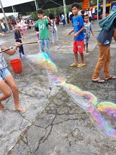 Escola da Família da Escola Yolanda, Grupo de Ritmos de Dança e Bloco Tiganá realizam grande festa em comemoração ao Dia das Crianças
