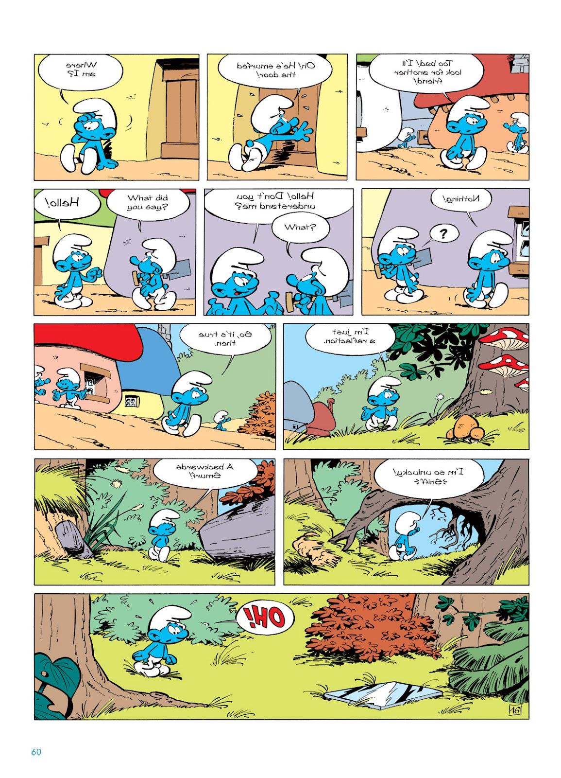 Read online The Smurfs comic -  Issue #5 - 60