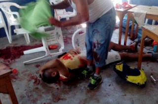 Balean a 7 personas y mueren 3 en Coatzacoalcos Veracruz