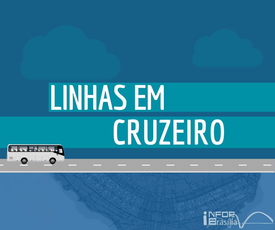 Horário de ônibus das linhas do Cruzeiro