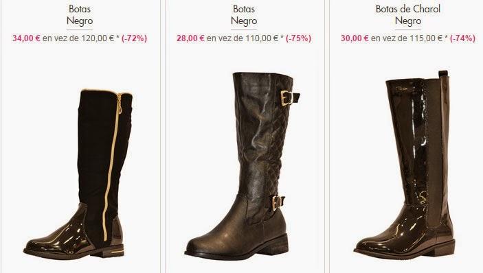 Botas mujer 28 euros
