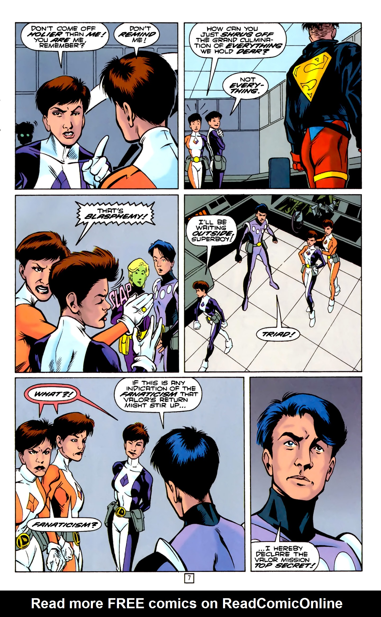 Legion of Super-Heroes (1989) 74 Page 7
