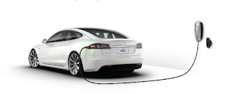 Tesla Electric Cars super charging