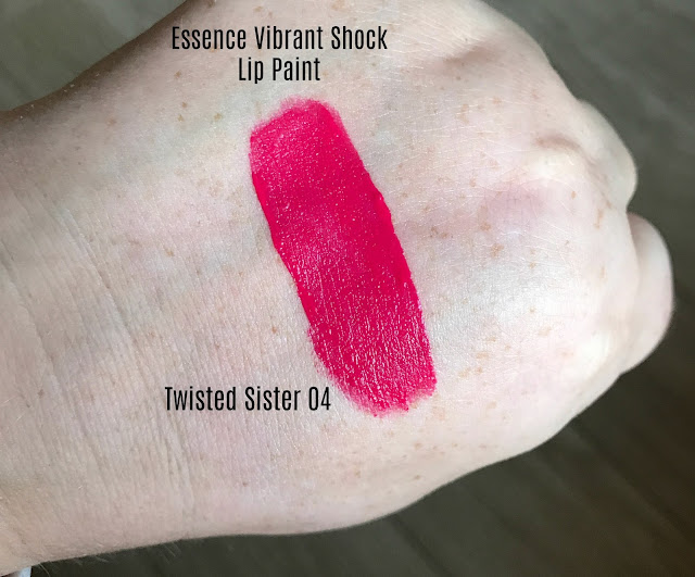 Essence Vibrant Shock Lip Paint